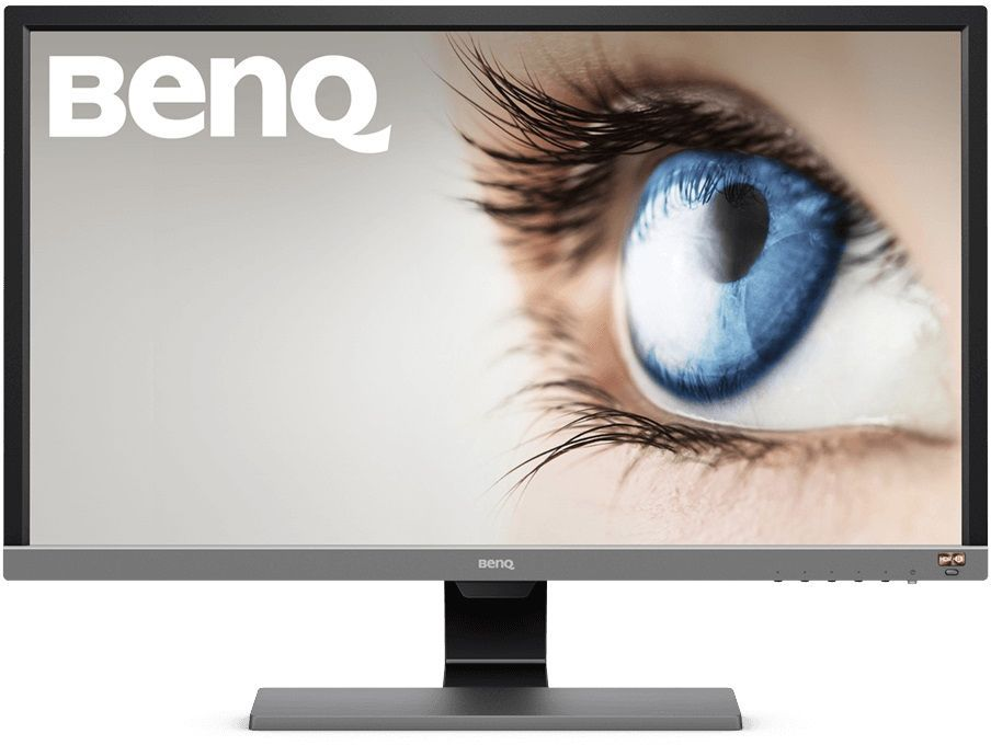 "Монитор 28"" Benq EL2870U черный TN LED 1ms 16:9 HDMI M/M матовая 12000000:1 300cd 170гр/160гр 3840x2160 DisplayPort Ultra HD"