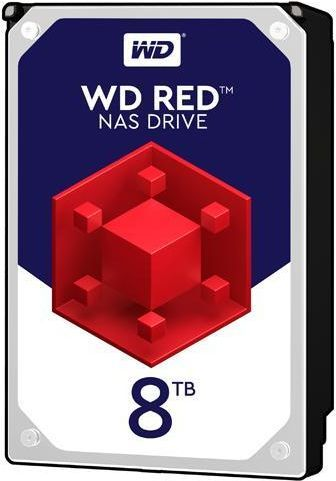 Жесткий диск SATA-III 8Tb WD WD80EFAX NAS Red (5400rpm) 256Mb 3.5