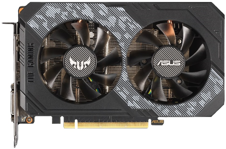 Видеокарта PCI-E 6Gb GeForce RTX 2060 Asus TUF-RTX2060-O6G-GAMING 192b GDDR6 1365/14000 DVIx1/HDMIx2/DP
