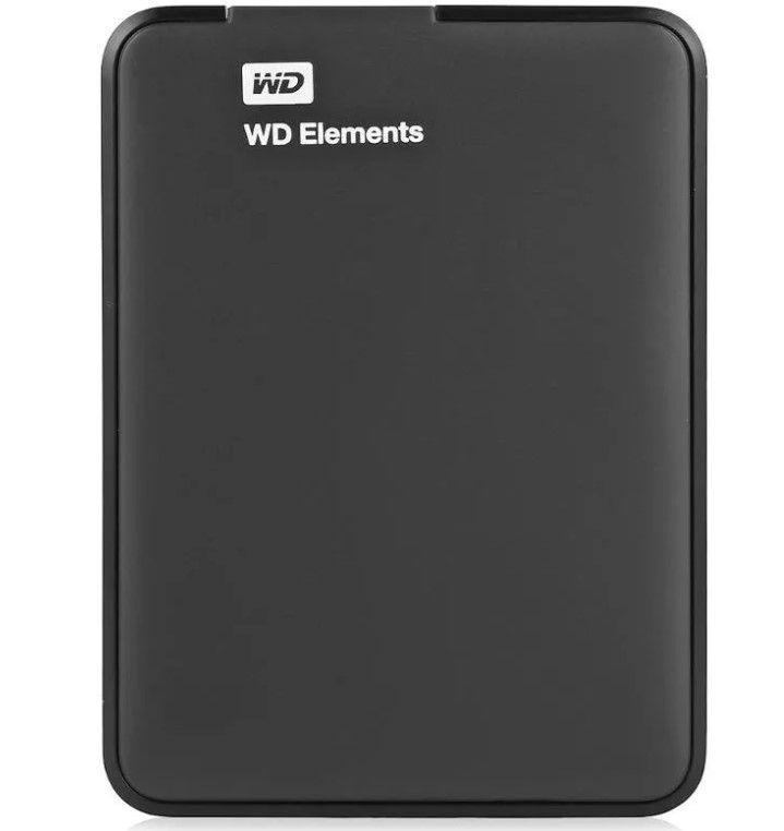 "Жесткий диск USB3.0 2Tb WesternDigital  WDBMTM0020BBK-EEUE Elements Portable 2.5"" черный"