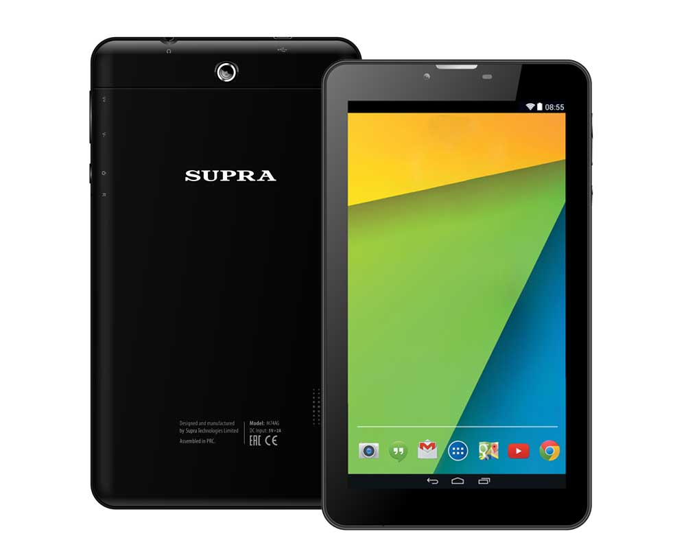 "������� 7"" Supra M74AG 4GB 3G TFT HD(1024x600) SC5735 1.2Ghz WiFi BT GPS 0.3MP 3.0 �� 2000mAh USB Cable USB-OTG Android 4.4"