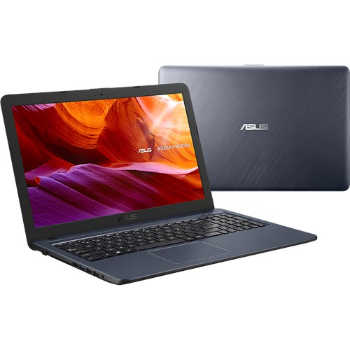 "Ноутбук 15,6"" Asus X543UA-GQ2044 Pen 4417U/4Gb/ 500Gb/DVDRW/610/ HD/Endless/grey"
