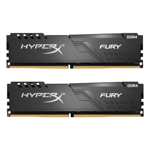 Память DIMM DDR4 64Gb 2666MHz Kingston HX426C16FB3K2/64  (Kit of 2) HyperX FURY Black