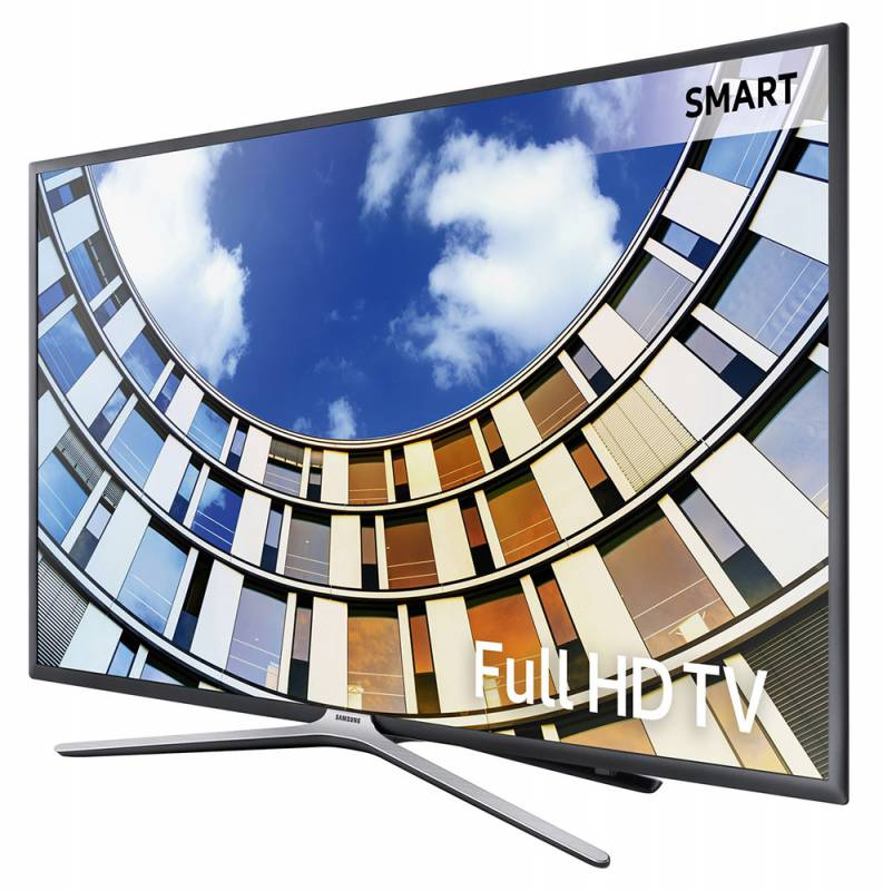 "Телевизор LED 32"" Samsung UE32M5500AUXRU 5 титан, FULL HD, 100Hz, DVB-T2, DVB-C, DVB-S2, USB, WiFi, Smart TV (RUS)"