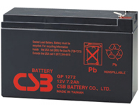 Аккумулятор UPS 12V 07Ah CSB GP1272 F2  (150x65x98mm)