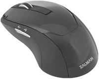 Мышь проводная Zalman ZM-M200 USB 1000dpi , optical, black color