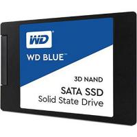 "Твердотельный накопитель SSD 2.5"" 250Gb WD Blue WDS250G2B0A, SATA 6Gb/s, R540 - W500 Mb/s, 97000 IOPS, 7mm"