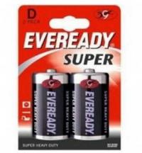 Элемент питания Eveready Super Heavy Duty D/R20 FSB2, 1 бл