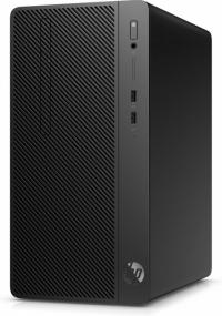 Системный блок HP 290 G2 MT i5 8500 (3), 4Gb, 500Gb 7.2k, UHDG 630, DVDRW, CR, Windows 10 Professional 64, GbitEth, 180W, клавиатура, мышь, черный