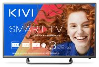 "Телевизор LED 32"" Kivi 32FR50BR серый/FULL HD/60Hz/DVB-T/ DVB-T2/DVB-C/ USB/WiFi/Smart TV (RUS)"