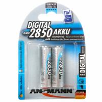 Аккумулятор AA 2850 mAh DIGITAL Professional(уп 2шт) Ansmann