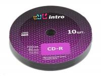 Диск CD-R 700Mb 52x Intro Shrink 10