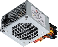 Блок питания 500Вт Qdion QD550 80+ (24+4+4pin) APFC 120mm fan 5xSATA