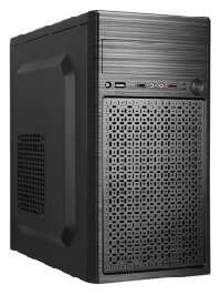 Корпус 400Вт ATX Trin TB-X011M, с БП SP-400A12 REV.B, 1ODD, 3HDD, 2SSD, 1USB3.0+2USB 2.0, HD Audio, размеры 325*170*345, сталь 0,5