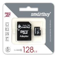 Карта памяти Micro-SD 128Gb Class 10, Sandisk UHS-1 Ultra Android 80MB/s  (SDSQUNS-128G-GN6MN)