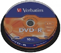 Диск DVD+R 4.7Gb 16х Intro Shrink (50шт/упак)
