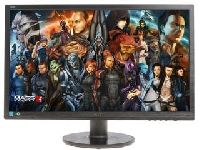 "Монитор 24"" AOC G2460FQ Black (1920x1080, 144Hz, 1 ms, 170°/160°, 350 cd/m, 80M:1, +DVI, +HDMI 1.4, +DisplayPort 1.2, +MM)"