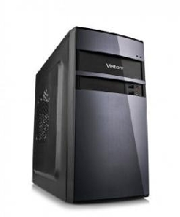 Корпус 450Вт Velton 7501A mATX USB+audio+Air Duct