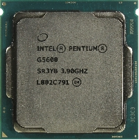 Процессор Soc-1151v2 Intel Pentium Gold G5600  (CM8068403377513S R3YB) (3.9GHz/Intel UHD Graphics 630) OEM