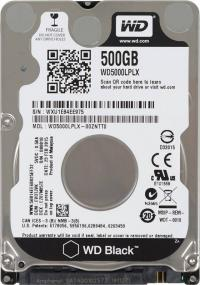 "Жесткий диск 2,5"" SATA-III 500Gb WesternDigital WD5000LPLX Black, SATA III (32mb, 7200rpm, 7mm)"