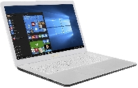 "Ноутбук 17,3"" Asus X705UA-GC878T Intel 4417U/8Gb/256Gb SSD/no ODD/ FHD IPS Anti-Glare/Wi-Fi/ Win10 White"