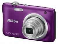 "Фотокамера Nikon CoolPix A 100 фиолетовый 20.1Mp 5x 2.7"" 720p 25Mb SDXC EN-EL19"