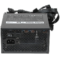 Блок питания 500Вт Aerocool CYLON 500 80+ (24+4+4pin) APFC 120mm fan color 5xSATA RTL