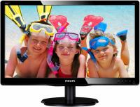 "Монитор 19,5"" Philips 200V4LAB2 (00/01) черный TFT LED 5ms 16:9 DVI M/M Mat 600:1 200cd"
