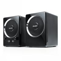 Колонки SVEN 2.0 247 2х2Вт, корпус черный, Ultra Sound System, USB
