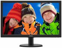"Монитор 23,6"" Philips 243V5QSBA Black MVA, LED, 1920x1080, 8 ms, 178°/178°, 250 cd/m, 10M:1, +DVI"