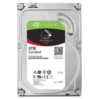 Жесткий диск SATA-III 2Tb Seagate ST2000VN004 Iron Wolf Guardian for  NAS <5900rpm, 64Mb,