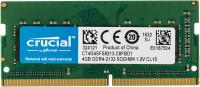 Память SO-DIMM DDR4 4Gb 2133MHz CrucialCT4G4SFS8213 RTL PC4-17000 CL15 SO-DIMM 260-pin 1.2В single rank
