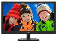 "Монитор 21,5"" Philips 223V5LHSB2 (00/01) Black,LED, LCD, Wide, 1920x1080, 5 ms, 90°/65°, 200 cd/m, 10M:1, +HDMI."