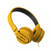 Наушники+микрофон MICROLAB K763D yellow, 20Hz - 20KHz