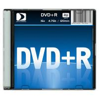 Диск DVD+R 4.7GB 16x Data Standard Slim (13420-DSDRP04S)