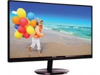 "Монитор 23"" Philips 234E5QHSB (00/01) Black-Cherry AH-IPS LED 1920x1080 16:9 5ms 20M:1 250cd 178/178 VGA HDMI MHL HDMI audio out VESA 100х100 SmartImage Lite"