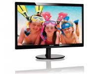 "Монитор 24"" Philips 246V5LHAB (00/01) Glossy-Black TN LED 1920x1080 16:9 5ms 10M:1 250cd  170/160 M/M 2x2 Вт VGA HDMI VESA SmartControl Lite EnergyStar 6.0"