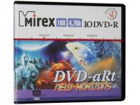 Диск DVD+R 4.7Gb 16-х Mirex DVD-aRt NEW HORIZONS портмоне 10 DVD (UL130082A1V)