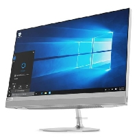"Моноблок 23.8"" Lenovo IdeaCentre AIO 520-24ARR/ AMD A6 9500E (3Ghz)/ 4096Mb/ 1000Gb/ DVDrw/ Radeon R5/ BT/WiFi/ black/ DOS + Клавиатура, мышь (F0DN004BRK)"