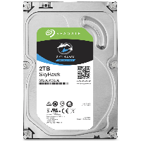Жесткий диск SATA-III 2Tb Seagate ST2000VX008 Skyhawk Guardian Surveillance  Video <5900rpm, 64Mb