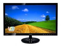 "Монитор 21,5"" Asus LCD VS228NE Glossy-Black TN LED 5ms 16:9 DVI M/M 10M:1 250cd"