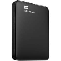 "Жесткий диск USB3.0 500Gb WD WDBMTM5000ABK-EEUE Elements Portable 2.5"" черный"