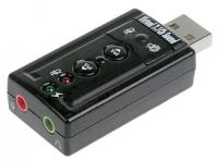 Звуковая карта C-Media USB TRUA71 (C-Media CM108) 2.0 channel out 44-48KHz volume control (7.1 virtual chann