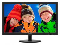 "Монитор 21,5"" Philips 223V5LSB (10/62) Glossy-Black TN LED 1920x1080 16:9 5ms 10M:1 250cd D-Sub"